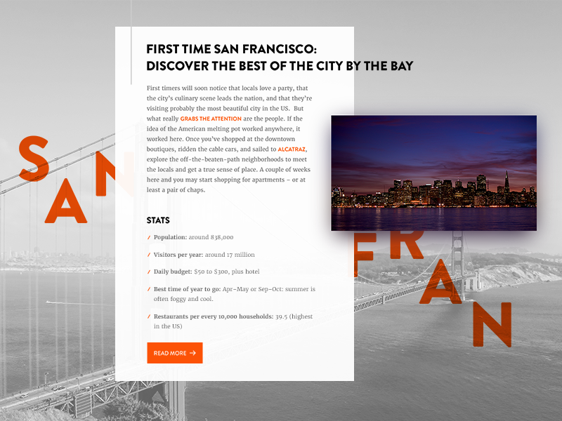 Article Preview content design layout san francisco design typo user interface typography diffuse article flat ux ui