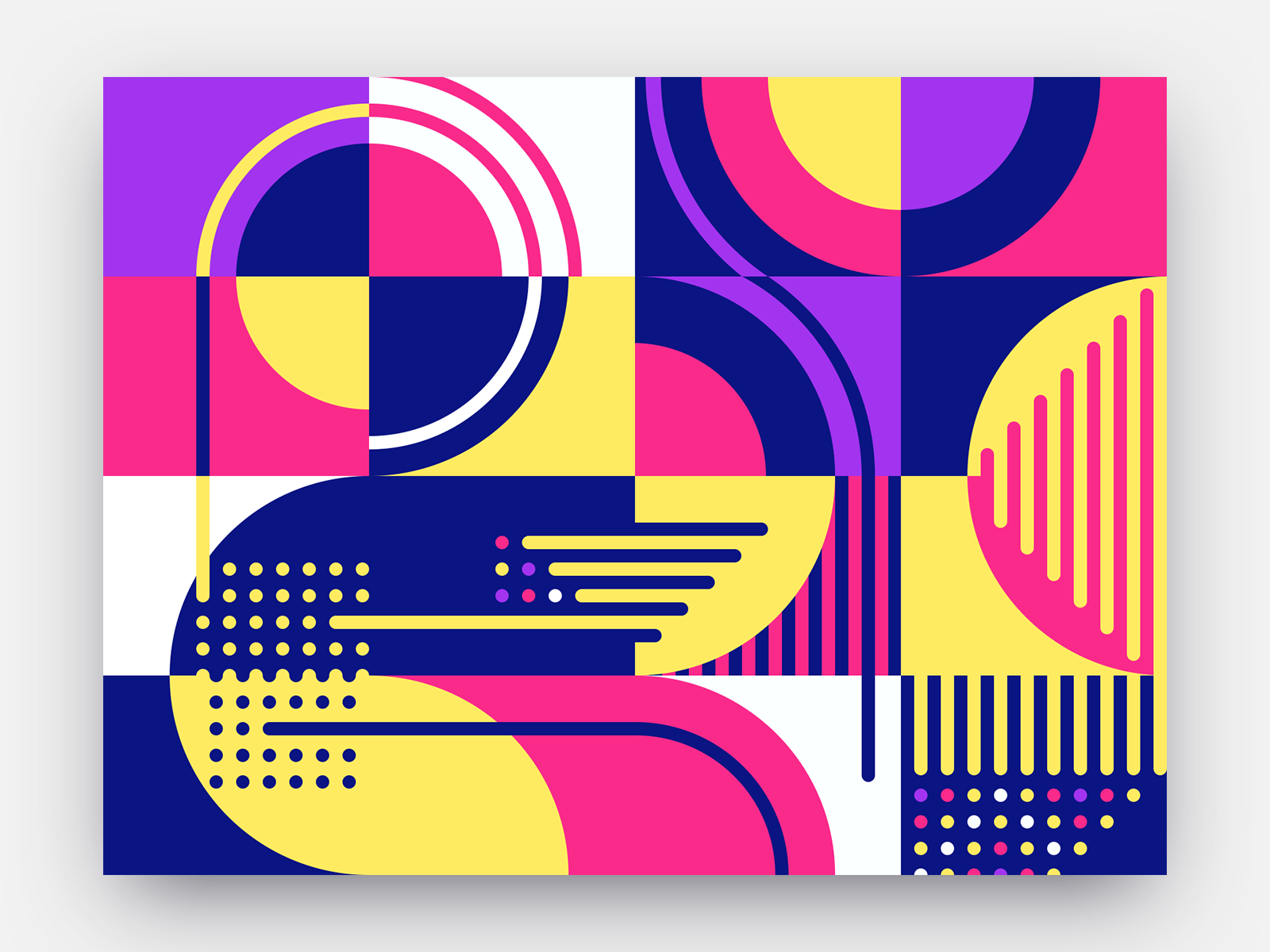 Pop pattern preview