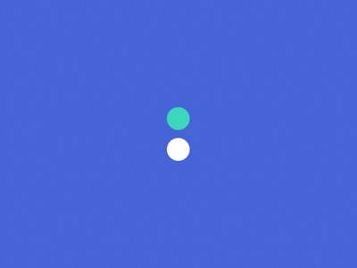 Two Dots colourful minimal simple branding
