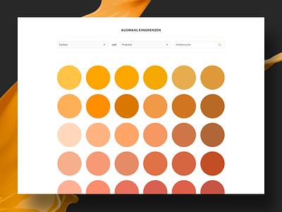 Colour selection web-design wall colour ux ui teaser responsive design website design sekection colour