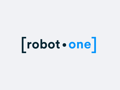 Logo Animation type concept colour white blue clean typography branding vector web minimal design ui flat animation logo