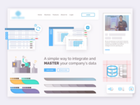 HR Consulting - Brand Refresh typography vector ux design web icon ui branding illustration