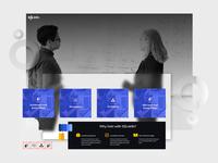Visual Tile: SQL Server training for Data Architects branding blue process ux design web icon ui illustration