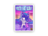 Rock no Vale 2014 - Music Festival Poster