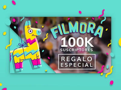 100K Subscribers - special Prize campaign (Spanish market)