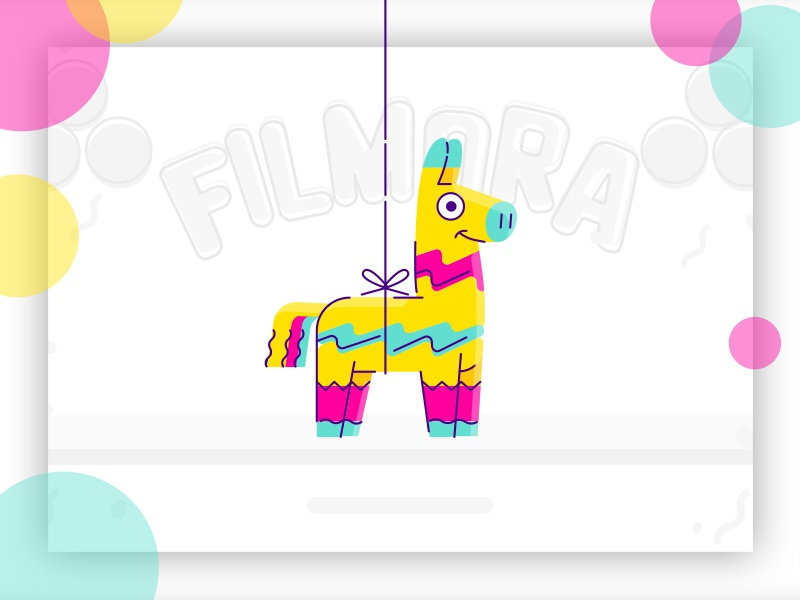 100K Subscribers - special Prize campaign (Spanish market) llama party pinata design icon animation illustration