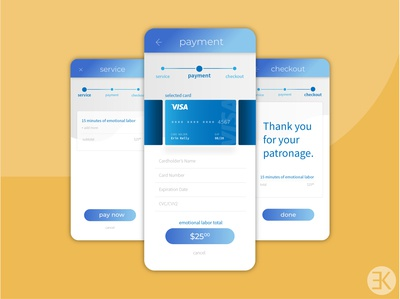 DailyUI 002 Dribbble dailyuichallenge dailyui 002 dailyui checkout form checkout page payment creditcard uidesign ux checkout