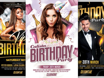 Birthday Bundle Flyer Template