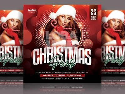 Christmas Flyer Template merry xmas flyers bokeh natal red nightclub instagram template party flyer new years eve new year christmas christmas tree christmas party christmas card christmas flyer advertising event flyer template design flyer design flyer template