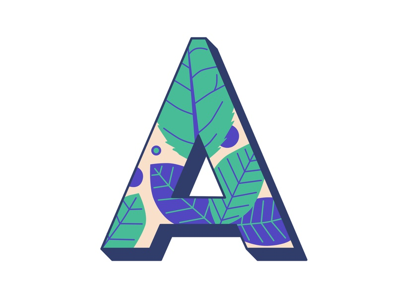 36 Days of Type: A 36daysoftype hand lettering illustration