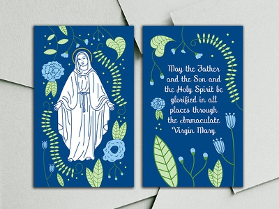 Marianist Doxology Prayer mary catholic prayer vector floral nonprofit flower