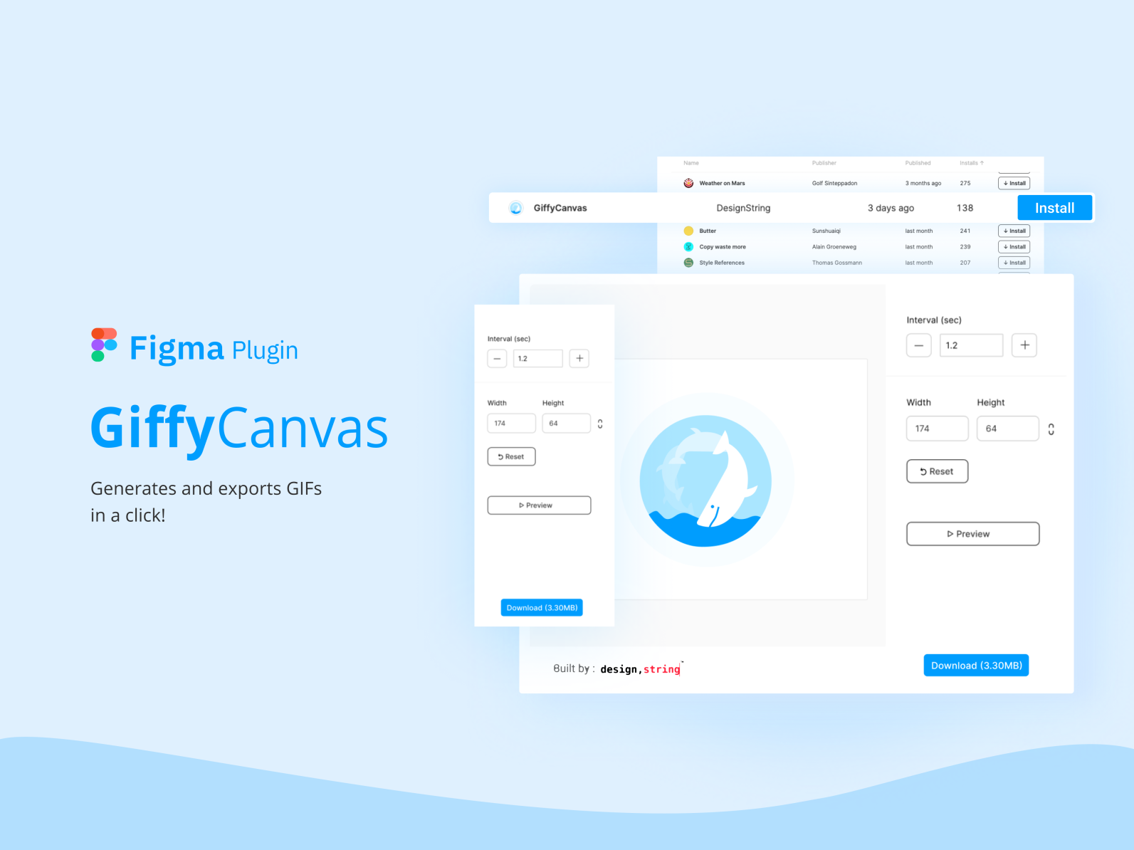 Figma Plugin To Export Gifs By Shyam Suresh For Designstring On Dribbble