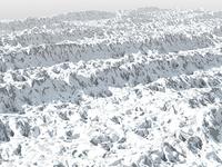 Winter Mountain Ridges