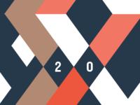 anniversary logo progress