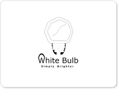 White Bulb Logo