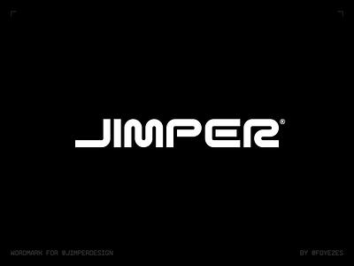 JIMPER - Wordmark design personal branding branding logo typography wordmark