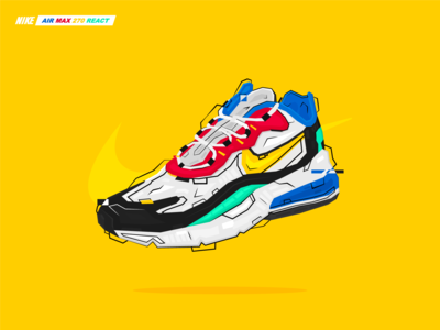 Nike Air Max 270 270 React Advertisement