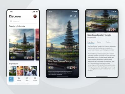 Akademi Desain 1 (Tourism Places App Exploration)