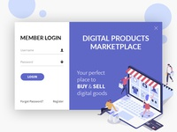 Digital Market Place - UI Design