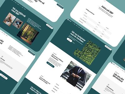 Full Website - Greentech web landing page design landingpage ui ux app website webdesign design graphic design