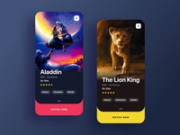 Disney+ App Concept