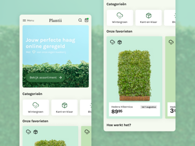 Ecommerce mobile website ui ecommerce