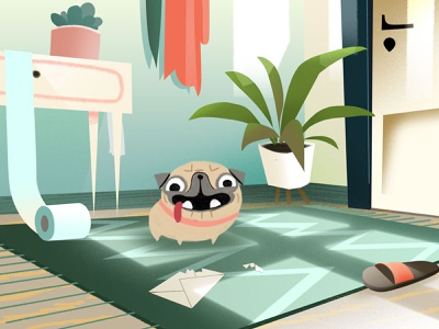 Bituach Leumi media clip video 2d animation art graphic illustration design animation