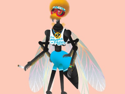 Character design - Fly branding motion character animation animationdesign content viral creativedesign marketing video characterdesign design animation 2d animation