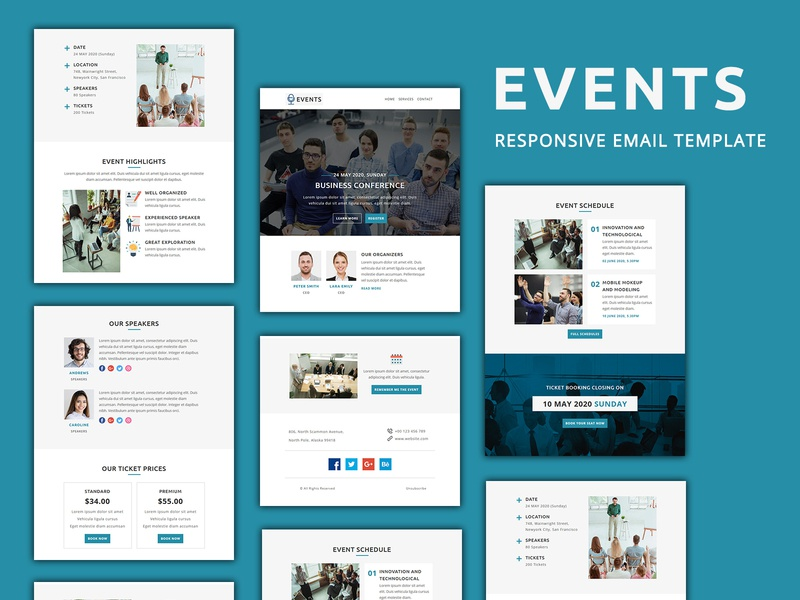 Events – Email Template