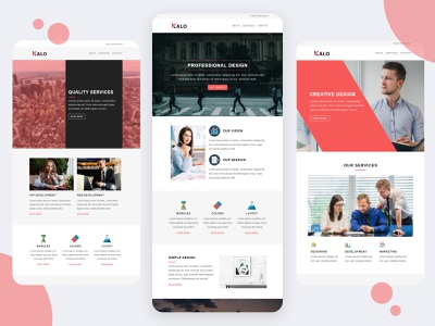 Kalo Business Email Template stampready mailster campaign monitor newsletters mailchimp marketing email templates responsive pennyblack pennyblack templates conference events business office corporate