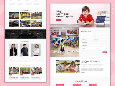 Play School Divi Layout divi layouts divi responsive pennyblack pennyblack templates