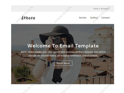 iPhoto – Responsive Email Template