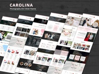 Carolina – Photography Divi Child Theme