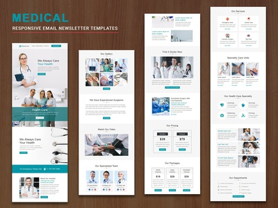 Medical - Responsive Email Templates
