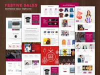 Festive Sales - Responsive Email Templates