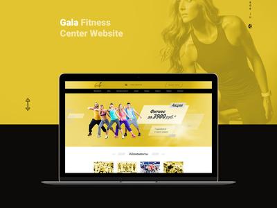 Gala Fitness Center train station training fitness club fitness gala health site gym sport ecomerce