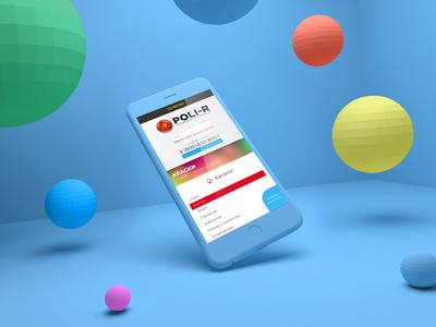 Polir Ecommerce Website colorful blue coating putty splash polir colors varnishes paints site ecommerce web design