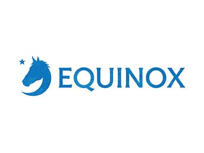 Equinox Branding logo branding equinox horse training equestrian moon