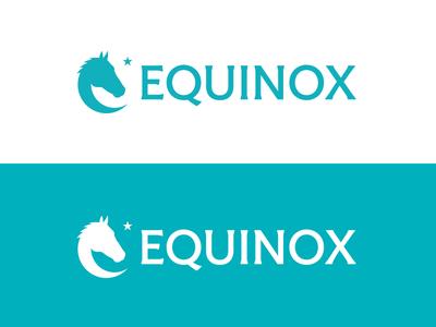 Equinox Final equinox brand equestrian logo horse