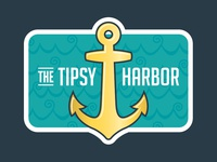 The Tipsy Harbor Wine Label New Look