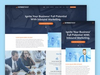 SkyRocket Group Website Redesign