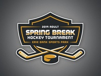 Erie Adult Hockey Tournament Logo