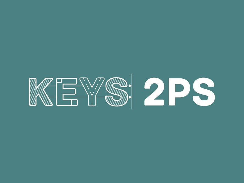 Keys2ps typography freelancegraphicdesigner freelancer logodesign logo drawing artworking illustrator colour vector print design edinburgh scotland branding freelance illustration design graphic design