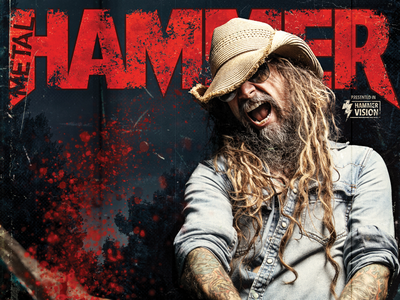 Rob Zombie/Metal Hammer Cover blood direction creative design magazine music rob zombie