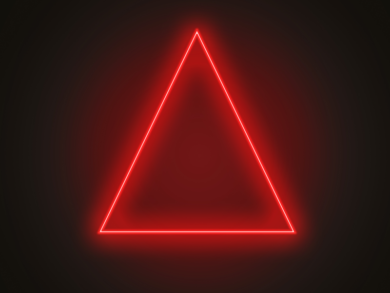Red Triangle by Lewis Somerscales on Dribbble