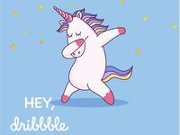 Hey, Dribble...