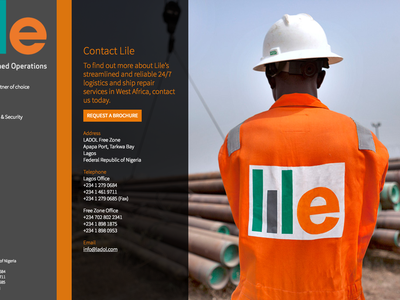 lile website vertical full background operations lagos rig repair logistics business website responsive africa