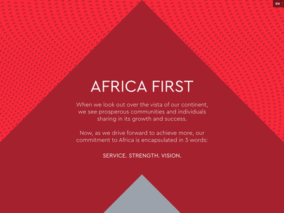 Vista Bank Coming Soon Holding Page parallax animation full background flat financial services investment bank businwess website responsive africa