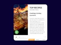 Social Share Recipe UI