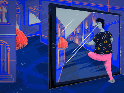Augmented reality animation ux research augmentedreality work wroclaw tooploox illustration